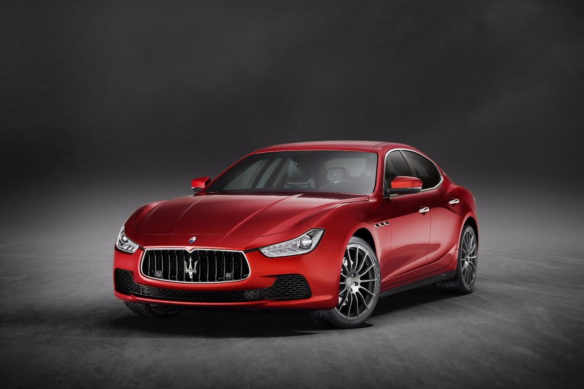 The new Maserati Ghibli