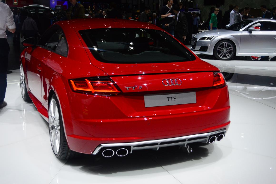 Swiss debut for Audi's new TT and 310 hp TTS Coupe