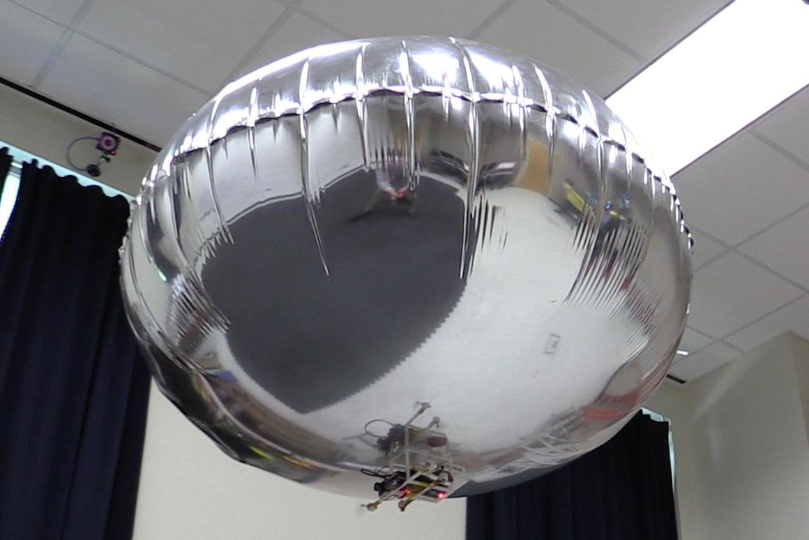 Georgia Tech is developing safer drones, including autonomousblimps that can read faces and gestures