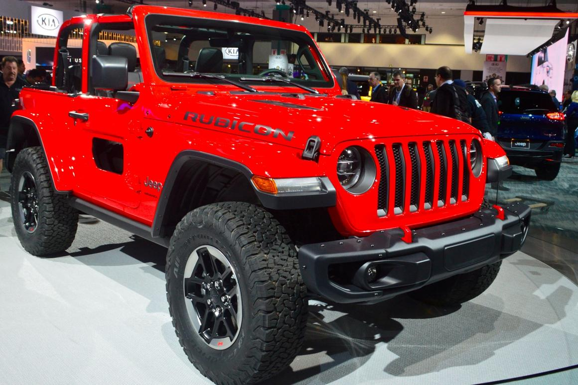 All-new 2018 Jeep Wrangler specs released at LA Auto Show