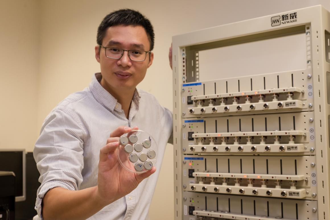 A proof of concept nanotube-based anode for lithium-ion batteries has been developed by researchers at the Nanyang Technological University (Photo: NTU)