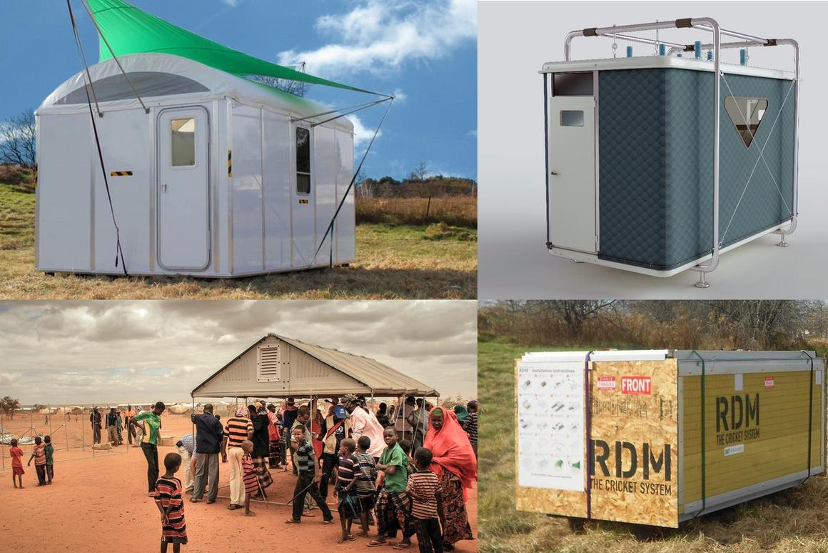 Gizmag looks at some innovative emergency shelters
