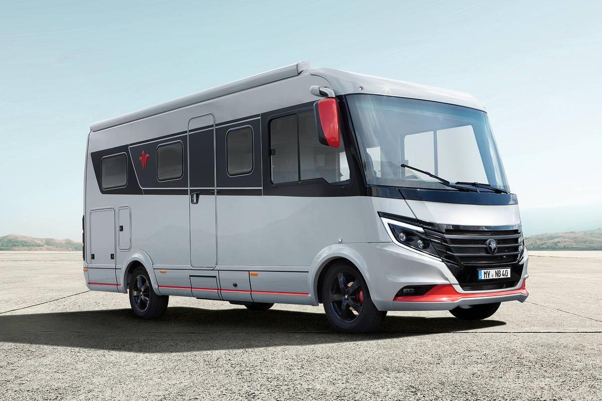 A small Class A motorhome, the Niesmann + Bischoff iSmove is as short as some camper vans but with a roomy, luxurious interior