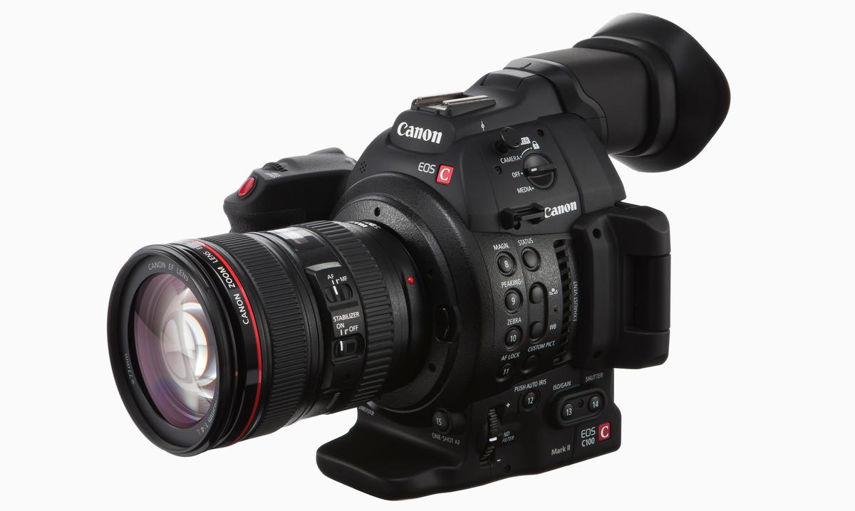 The Canon EOS C100 Mark II offers a number of key improvements