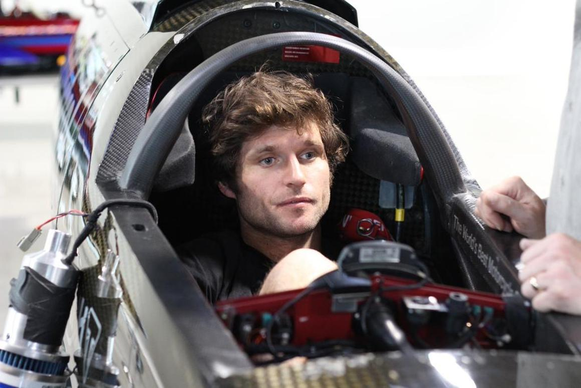 Guy Martin was selected to pilot Triumph's Rocket III streamliner at the Motorcycle Speed Trials