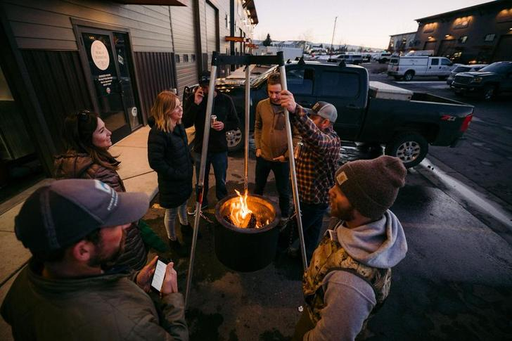 The Burch Barrel is imagined as a one-stop shop for grilling, smoking and fireside chatting