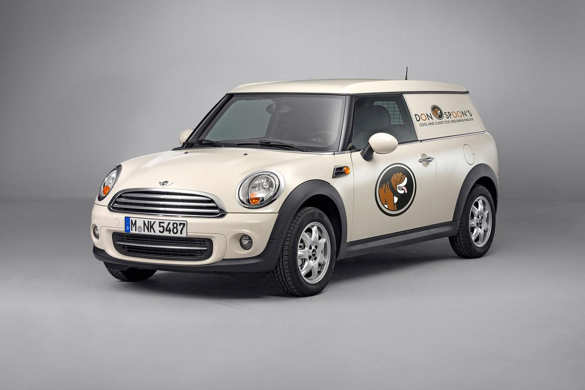 The Mini Clubvan has made the jump from concept to production vehicle