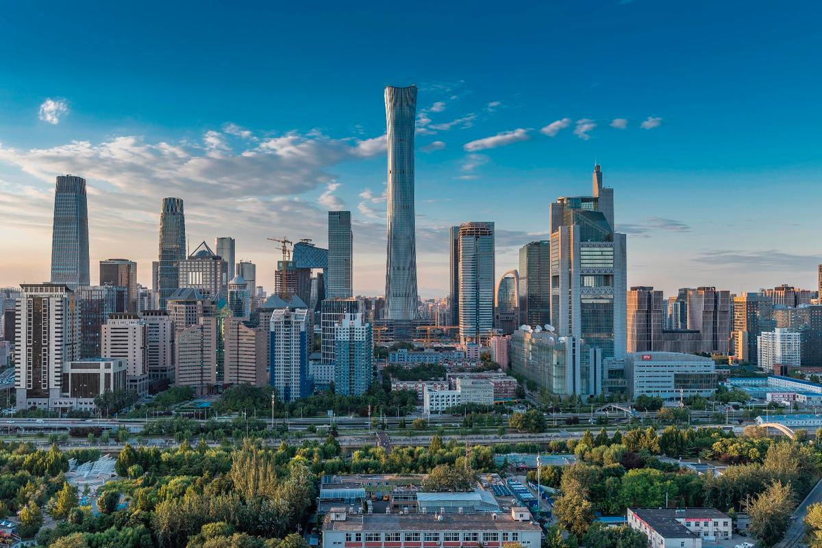 The Citic Tower, byKohn Pedersen Fox, rises to a height of528 m (1,731 ft) and is locatedin Beijing, China. It'sthe tallest skyscraper completed in 2018