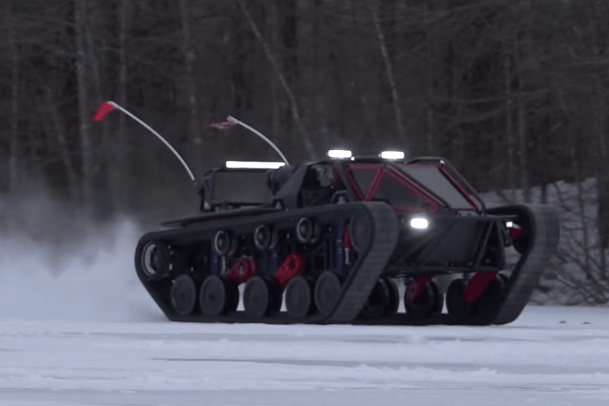 Ripsaw EV3-F1: gets so sideways so fast that it genuinely scares us