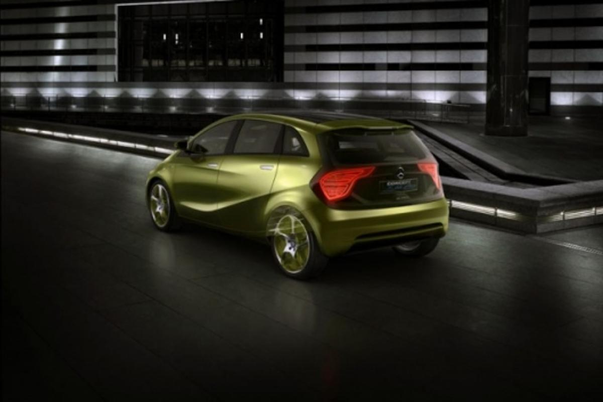 The BlueZERO electric vehicle concept from Mercedes-Benz