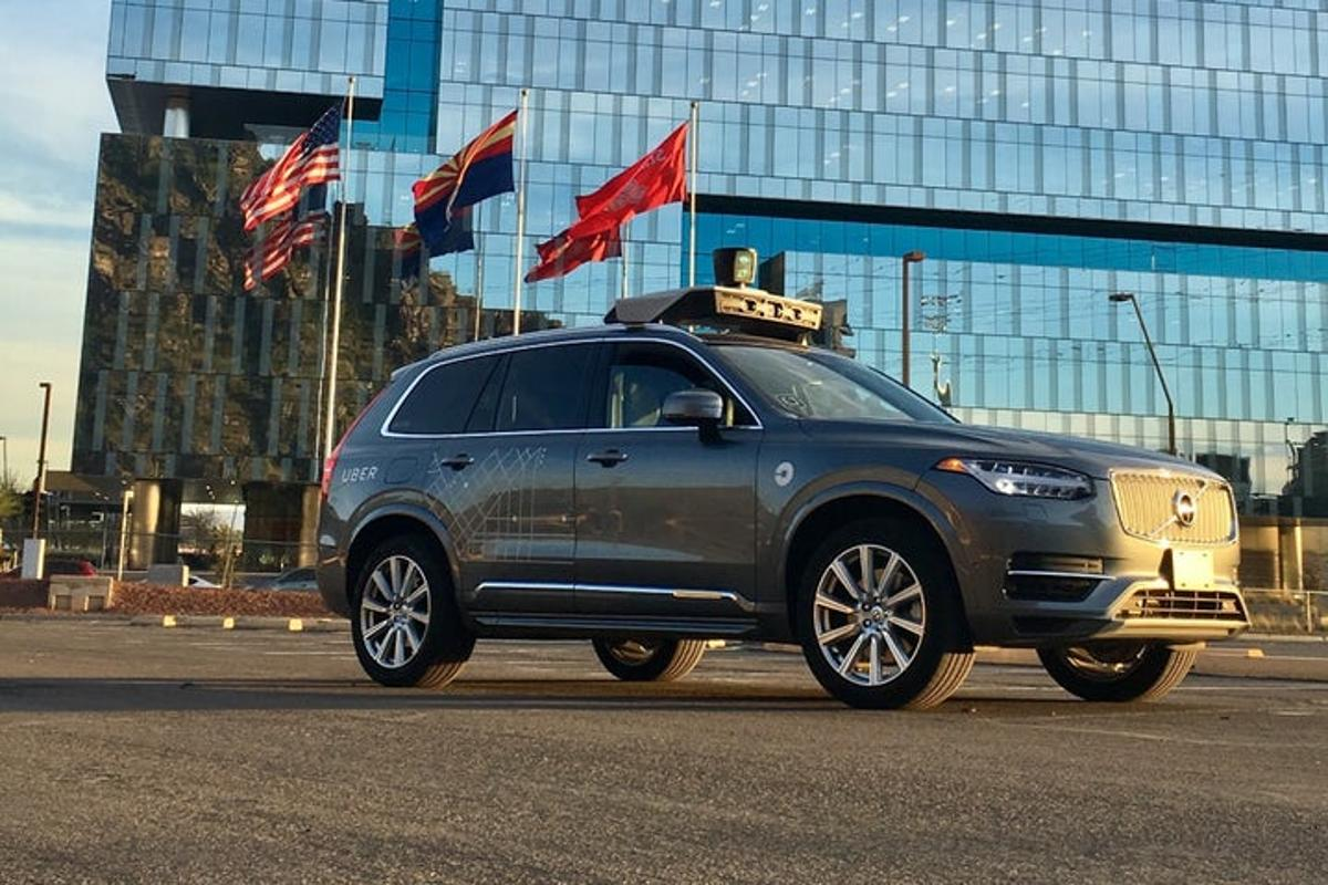 Uber's self-driving cars have been banned from the US state of Arizona
