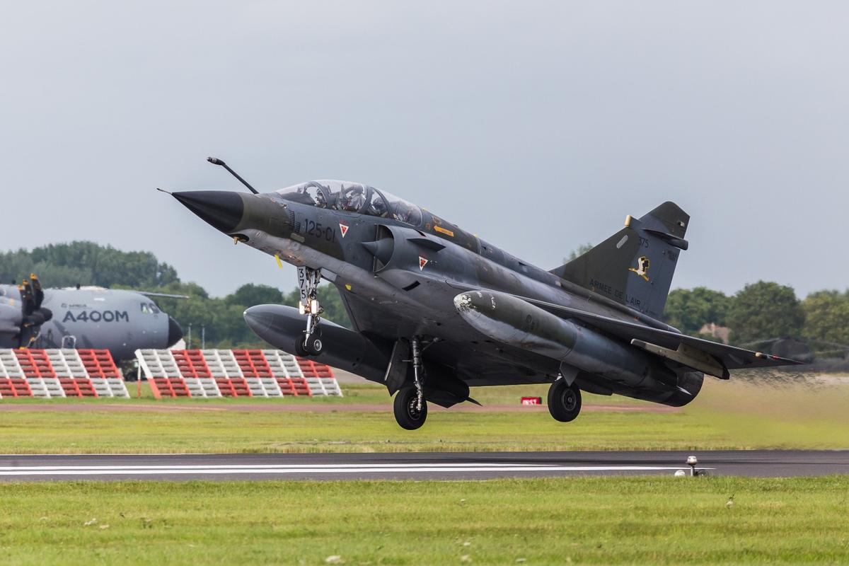 The Mirage 2000N served with the French Air Force for 30 years