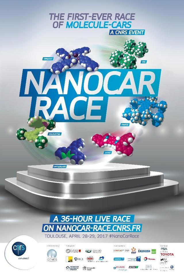 The poster for the Nanocar Race