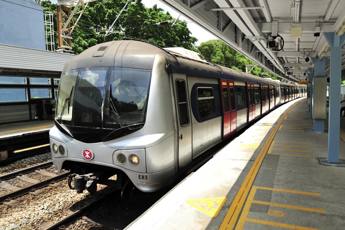 Fiber optic sensors are being installed along all of Hong Kong's commuter rail lines (Photo: Shutterstock/Li Wa)