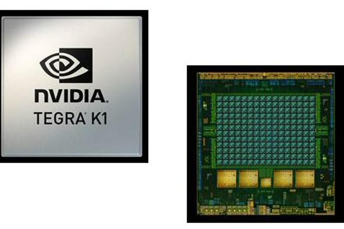 Nvidia's new Tegra K1 chip features a quad-core CPU and a 192-core GPU