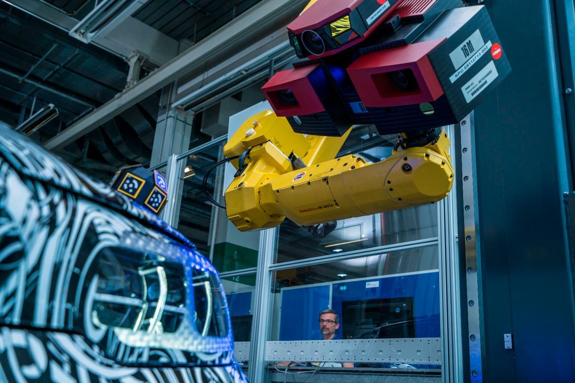 Two sensors capture detailed data
