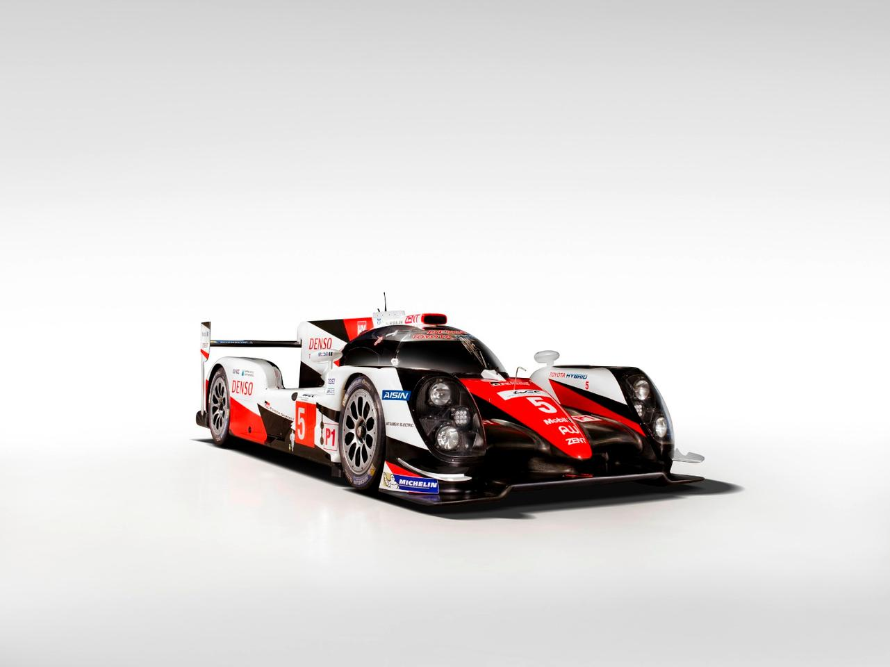 Toyota's TS050 will face off with the Audi R18 and Porsche 919 in the World Endurance Championship this year