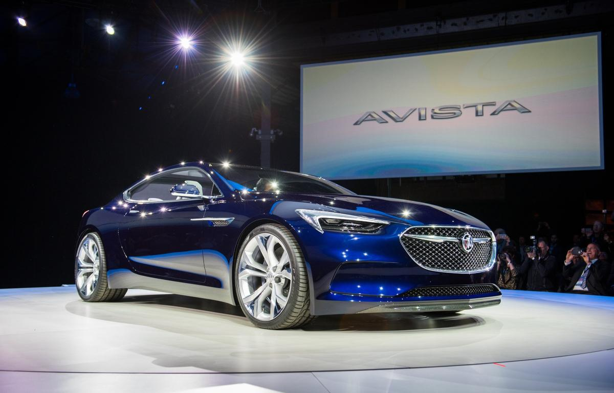 The Avista debuted on the evening before the start of NAIAS 2016