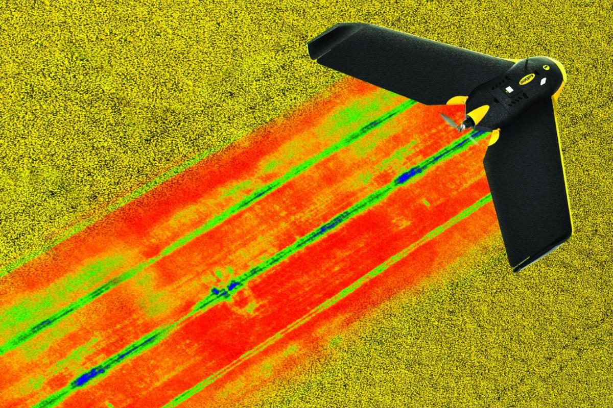 Parrot's Sequoia sensor attachment is targeted at crop management applications