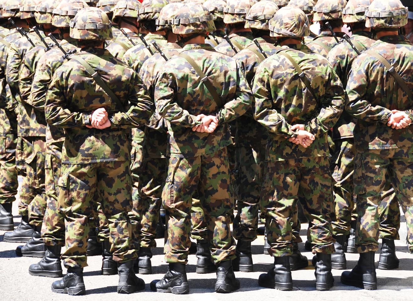 US Army Soldiers looks set to get new uniforms (not pictured) made of a flame-retardant, insect-repellent fabric