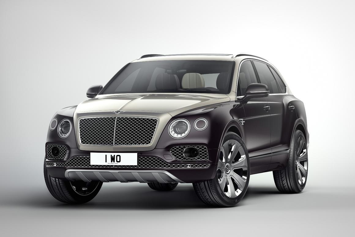The new BentleyBentayga Mulliner