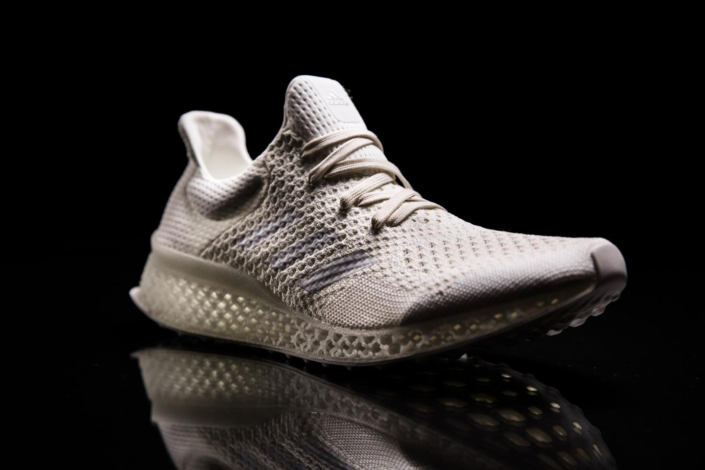 The Futurecraft 3D is designed to provide individualised support and cushioning for the wearer's feet