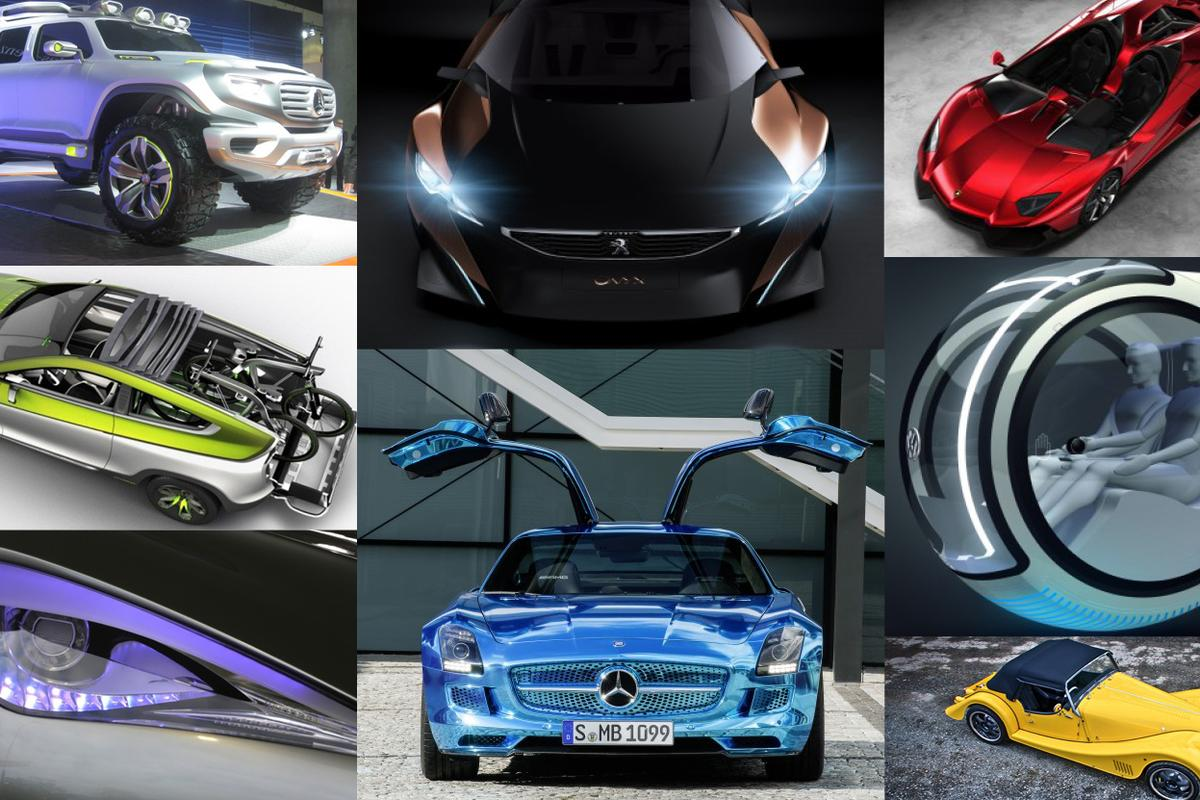 Gizmag's pick of the sexiest, most advanced and most noteworthy concept cars of 2012