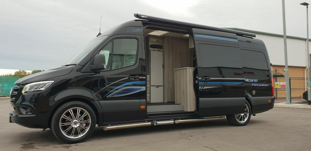 Mclaren converts the new Sprinter into the Shadow camper van