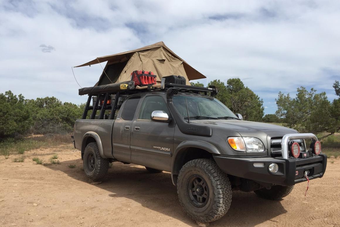 All set up at camp