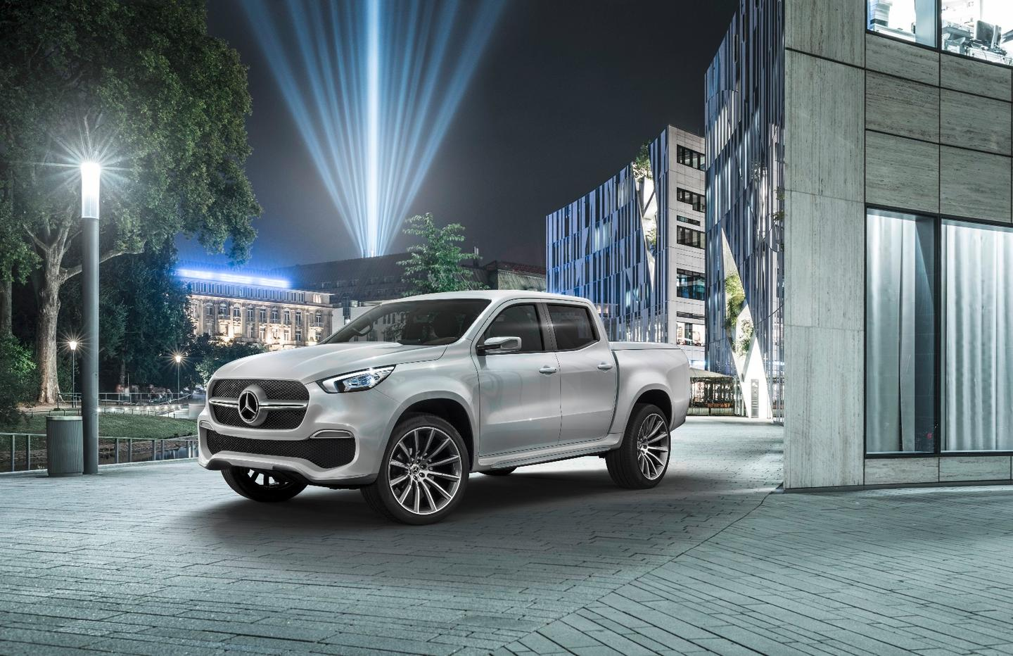 The Mercedes X-Class made its debut in Stockholm