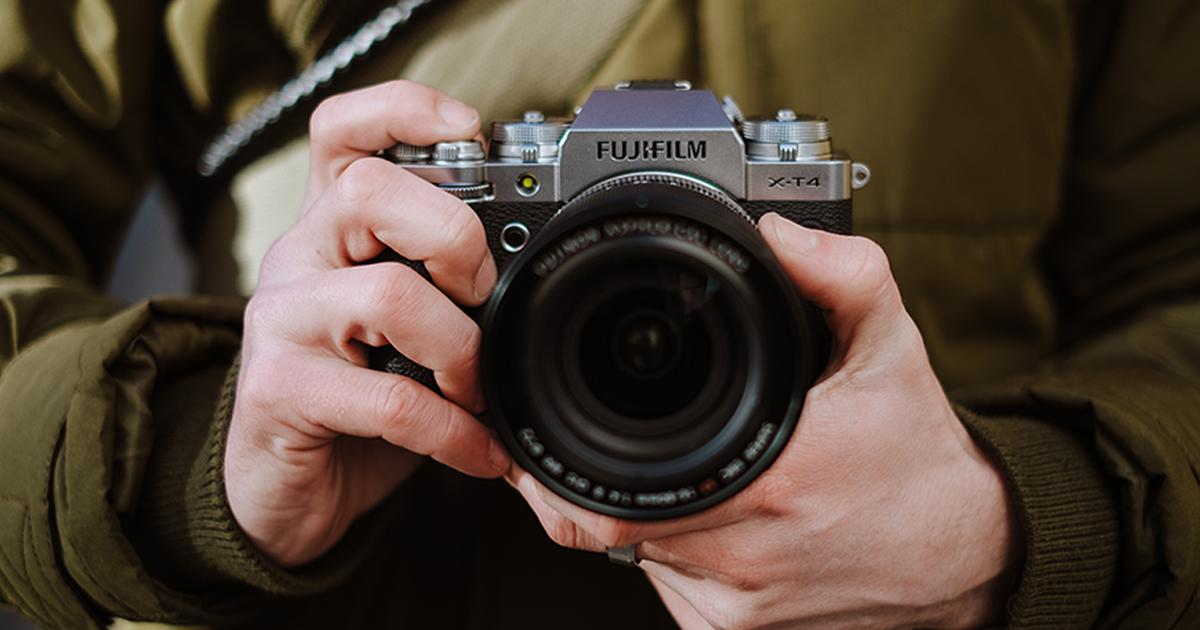 Fujifilm X-T4 smooths out camera shake with in-body stabilization