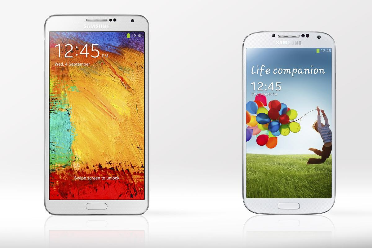 Gizmag compares the specs and features of the Samsung's new Galaxy Note 3 and Galaxy S4