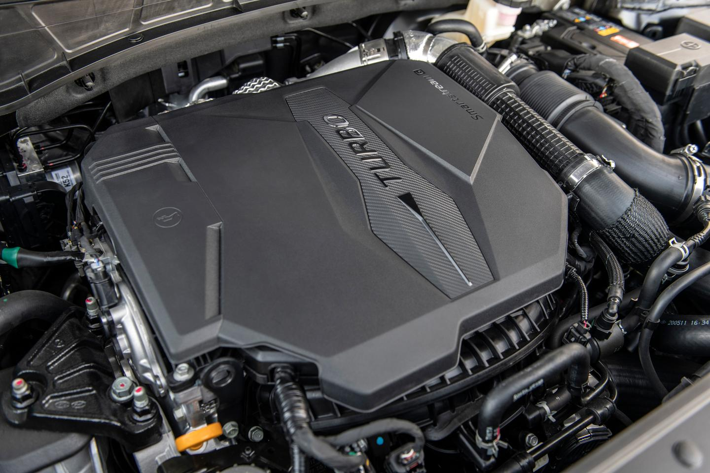 Both a standard and a turbocharged 2.5-liter four-cylinder engine power the new Santa Cruz
