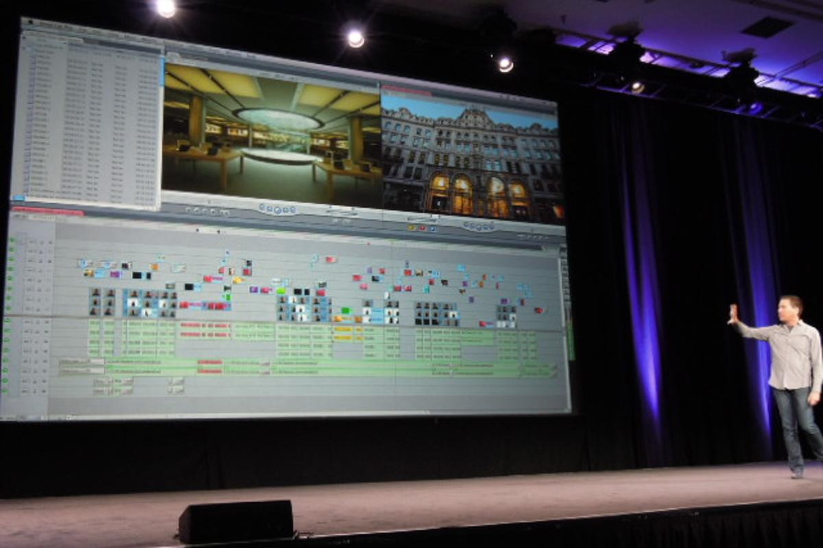 Apple took the wraps off its upcoming update to Final Cut Pro at the SuperMeet in Las Vegas this week (Photo: Photography Bay)
