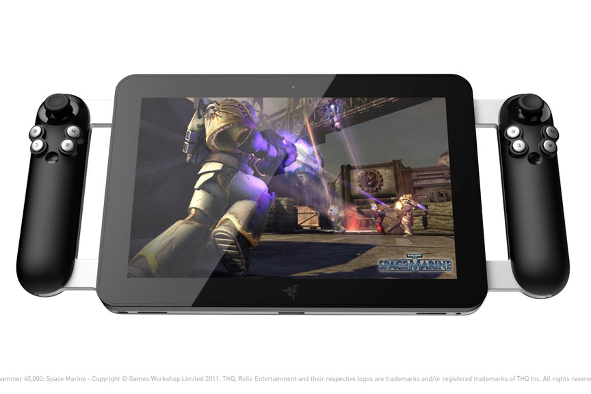 Razer's new concept gaming tablet is designed to play current PC games on the go