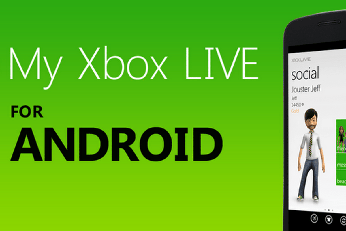 My Xbox Live has finally arrived on Android devices