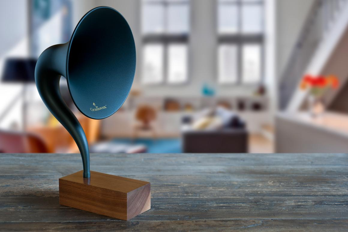 Gramovox's Bluetooth Gramophone blends the old with the new