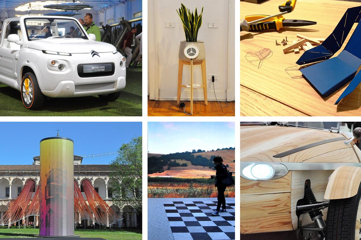 Some of the best designs and concepts from this year's FuoriSalone