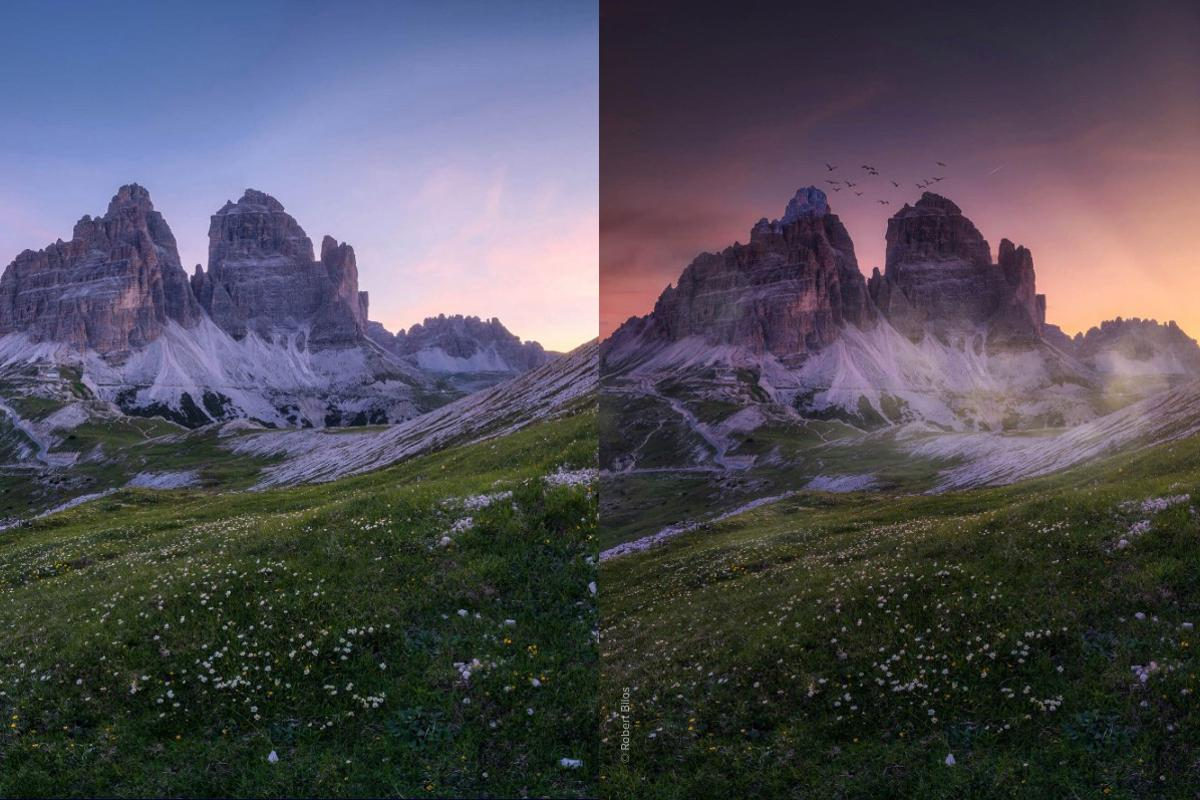 Luminar AI allows super-fast, slider-based sky replacement and relighting of images