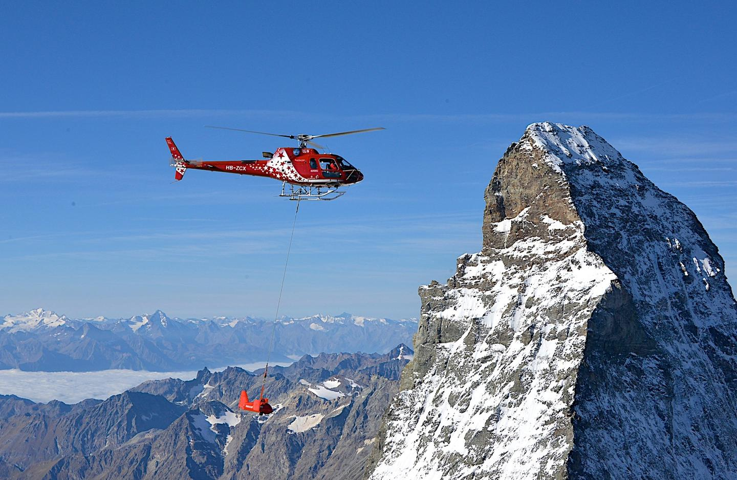 RECCO takes on helicopter search and rescue