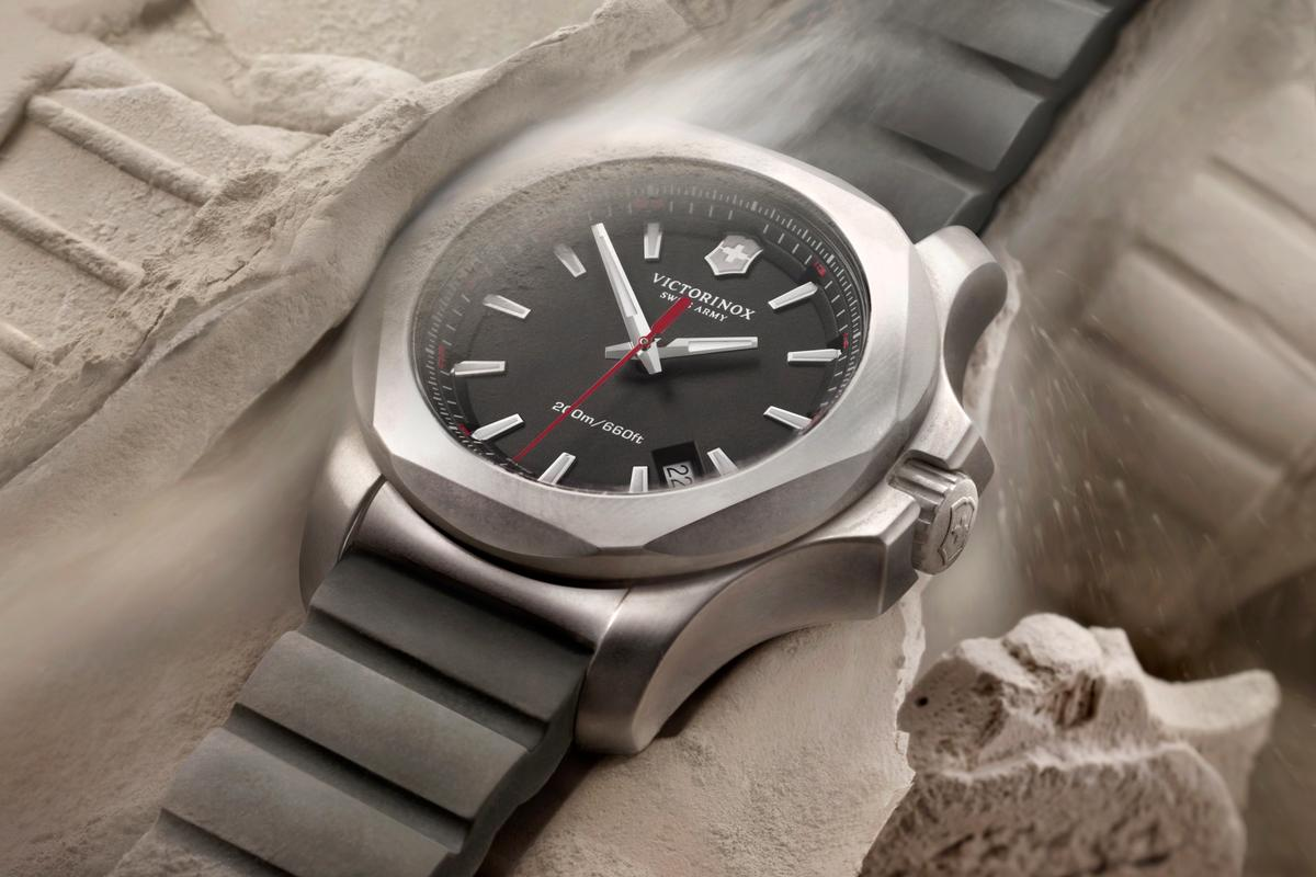 The Inox rugged watch from Victorinox