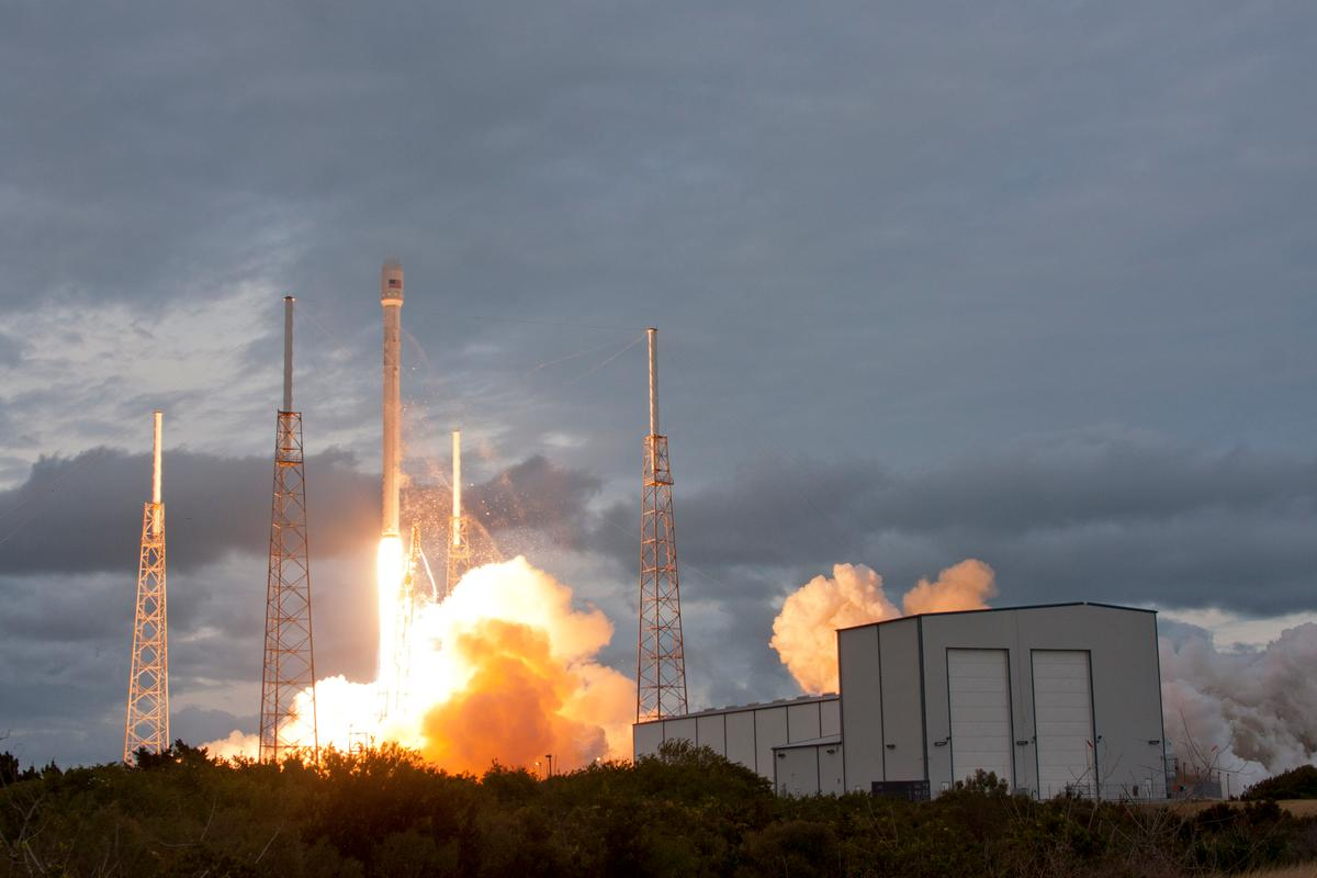 SpaceX has launched a second satellite into a geostationary transfer orbit