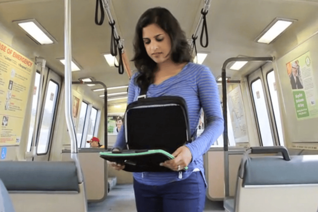 The Trego allows users to use their iPad without holding it