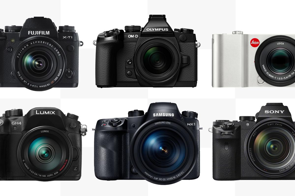 Gizmag compares the specifications and features of the best high-end mirrorless cameras on the market