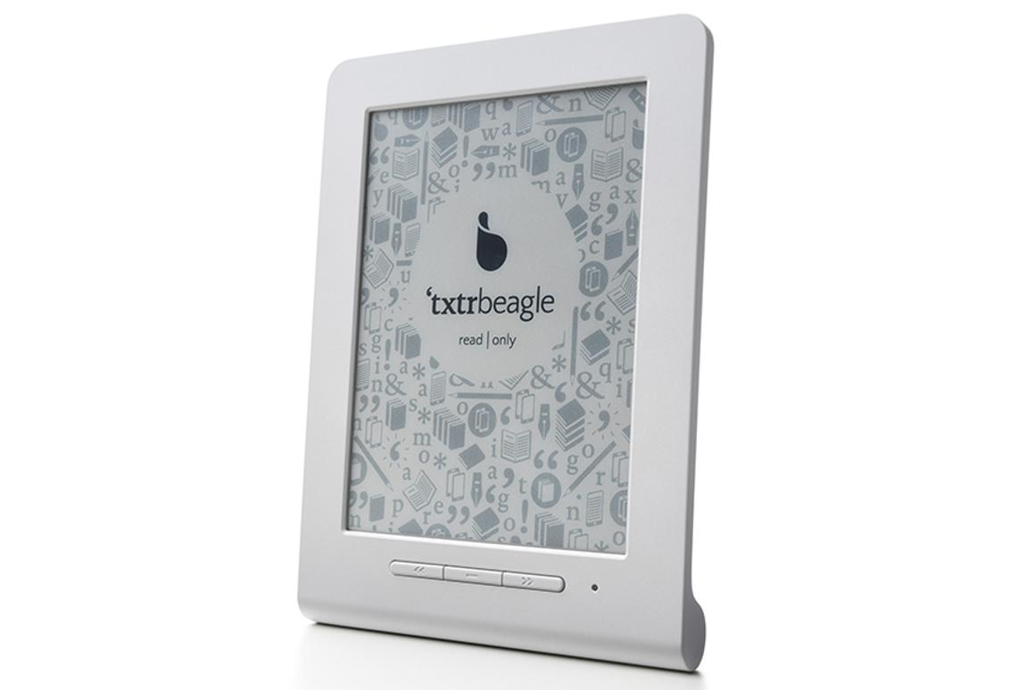 German developer, txtr, has revealed the Beagle, which it claims is the smallest eReader in the world, with a 5-inch screen and a weight of 128 grams (about 4.5 ounces)