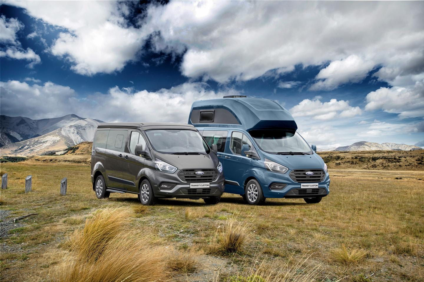 Ford's Nugget camper van family currently includes the high-roof Nugget, pop-top Nugget and high-roof Nugget Plus; the Big Nugget will be the largest member of the family