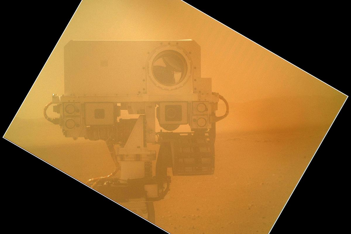 Curiosity's self-portrait (Image: NASA/JPL-Caltech/Malin Space Science Systems)