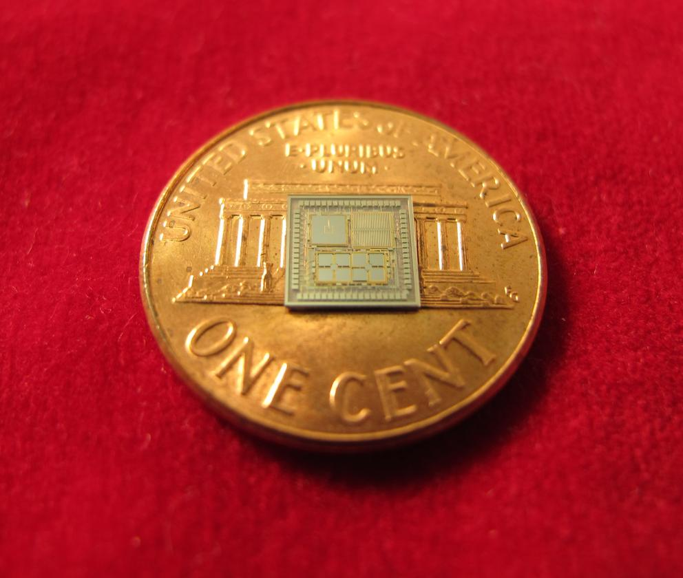 """DARPA's """"timing & inertial measurement unit"""" (TIMU) is a chip-based self-sufficient navigation system that is smaller than a penny"""