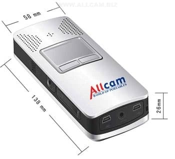 The Allcam CP1 pocket projector and handheld computer