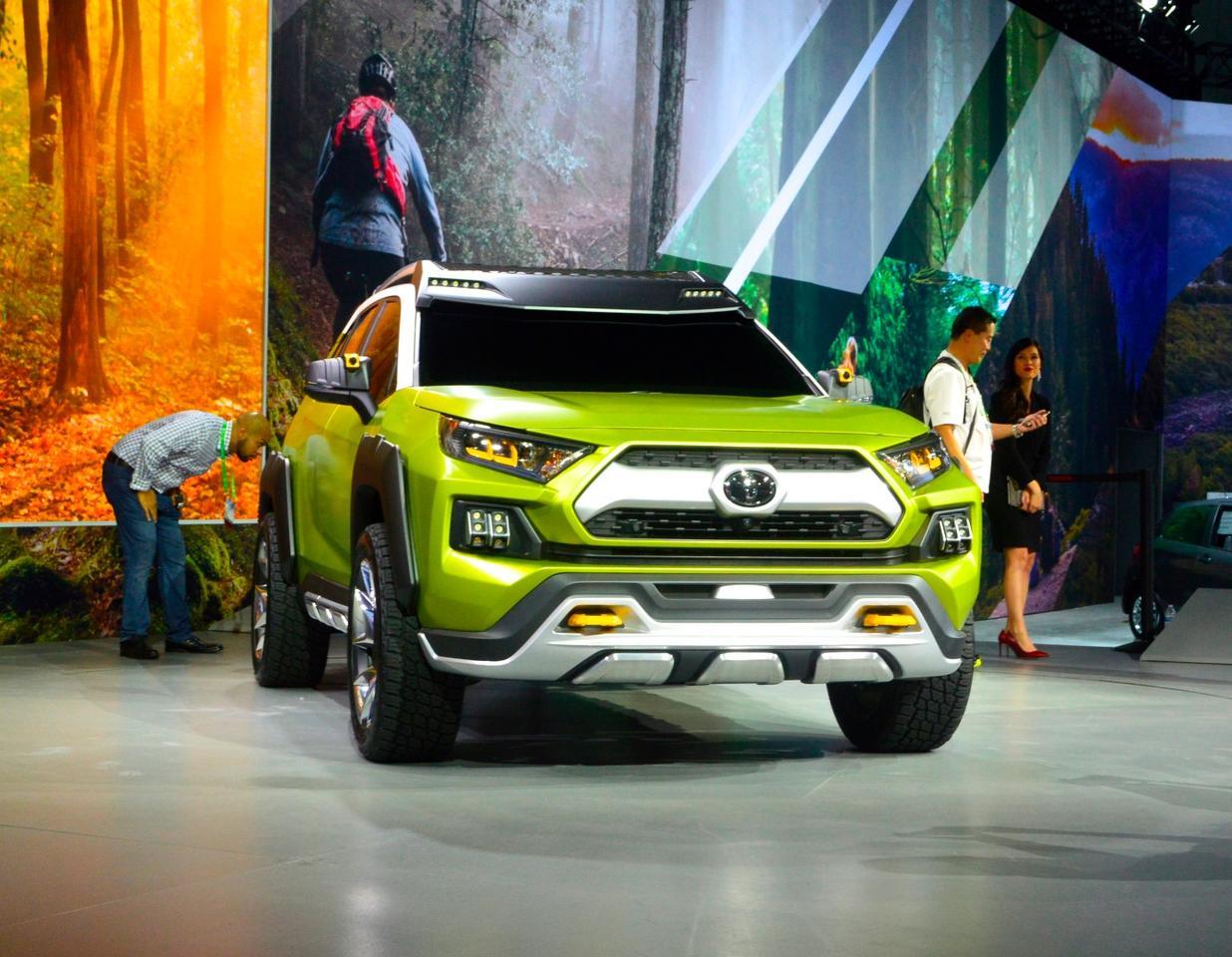 Toyota reveals the FT-AC concept at the 2017 LA Auto Show